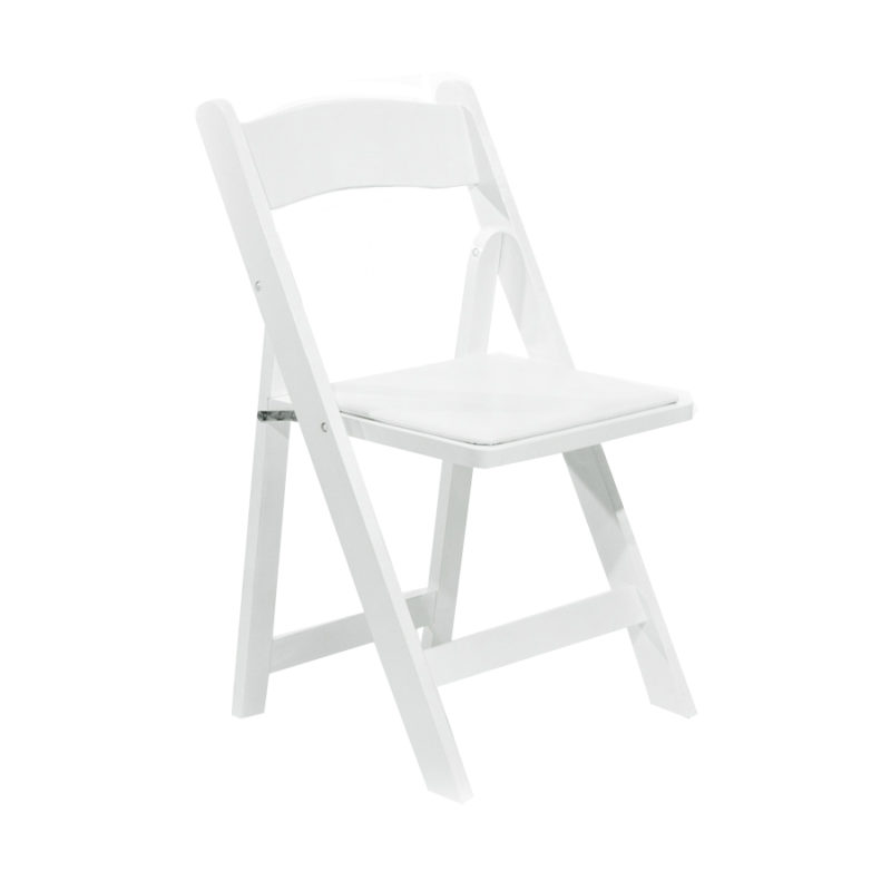 White Folding Chair Rental Portland