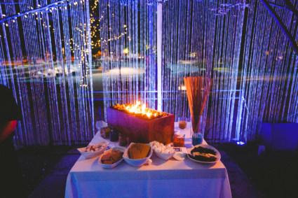AV Lighting Intel Event Lounge