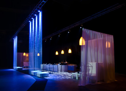 Lounge with Bar, Light Curtain, Ottoman and Tuffets2