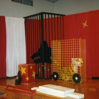 Circus theme event rental decor prop