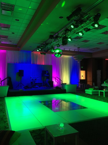 AV Lighitng and Dance Floor Event