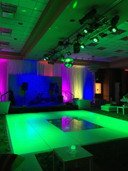 AV Lighitng and Dance Floor Event