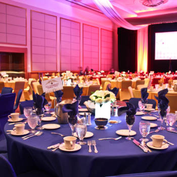 Fundraising Gala - Linen, Draping, Beverage services