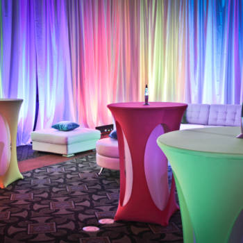 80's Theme event decor rental