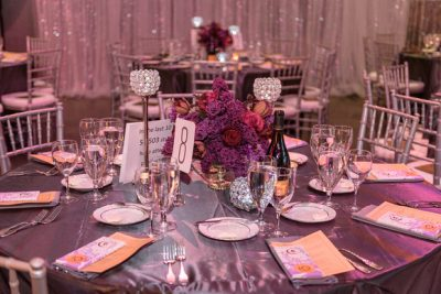 Event rental decor furniture and linen