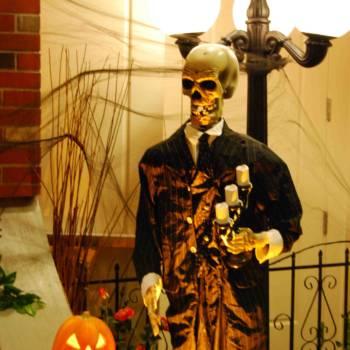 Halloween theme event decor rental