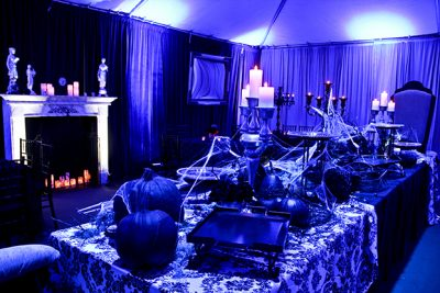 Halloween theme event decor rental
