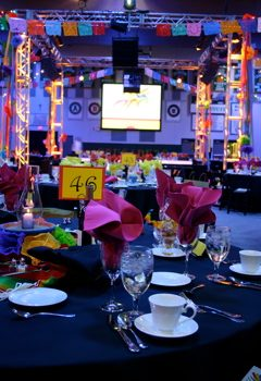 Day of the Dead Theme event decor rental