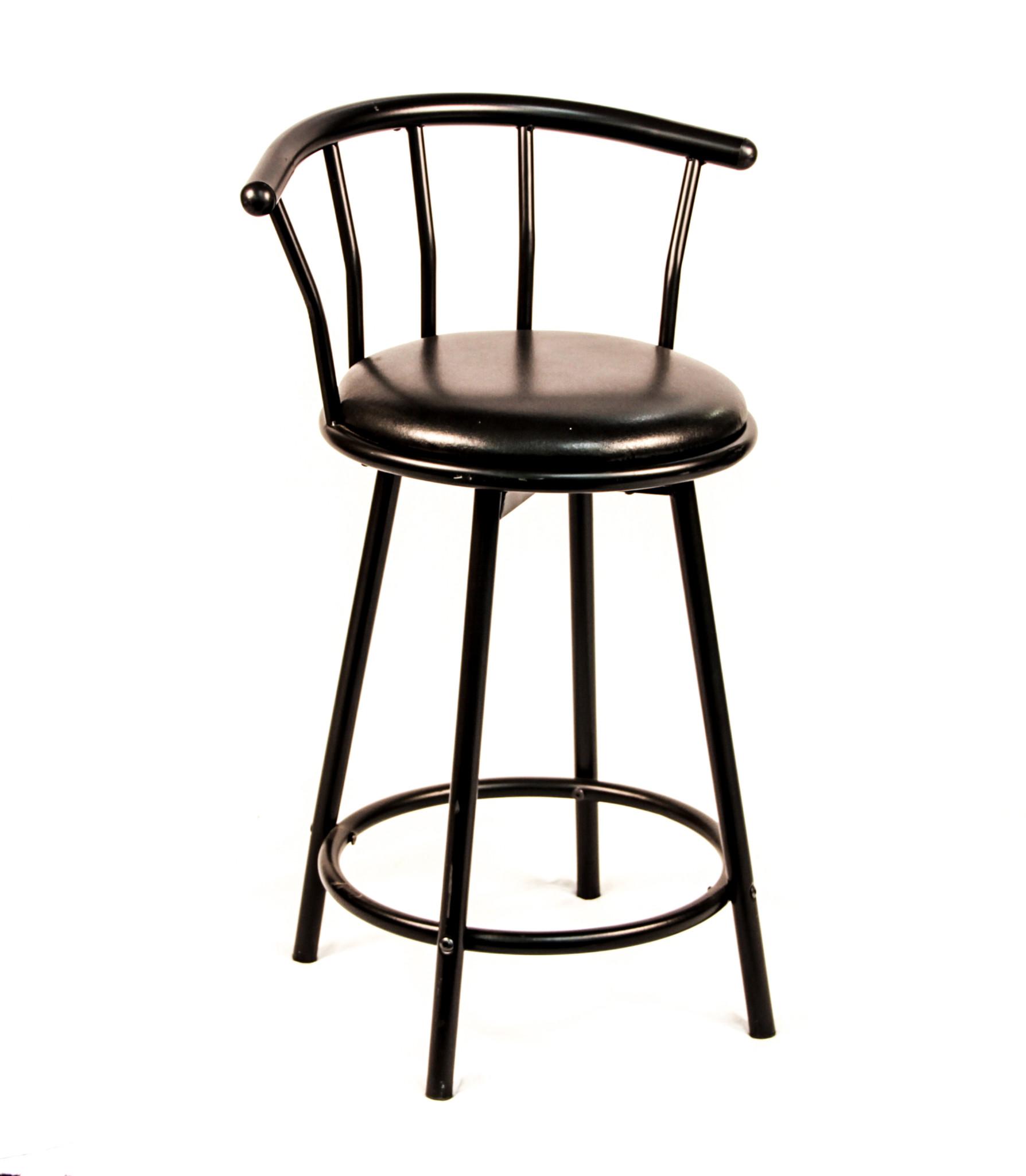 Admirable Spindle Back Bar Stool Black 24 Peter Corvallis Evergreenethics Interior Chair Design Evergreenethicsorg