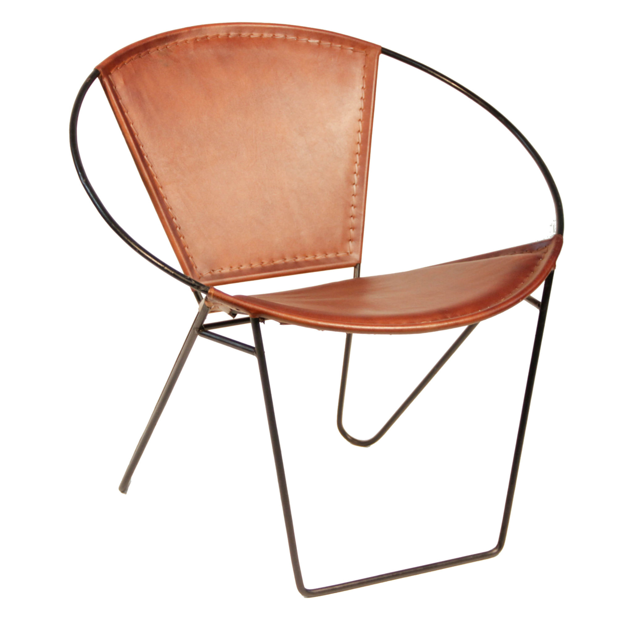 Accent Chair Mixed Metal: Peter Corvallis Productions