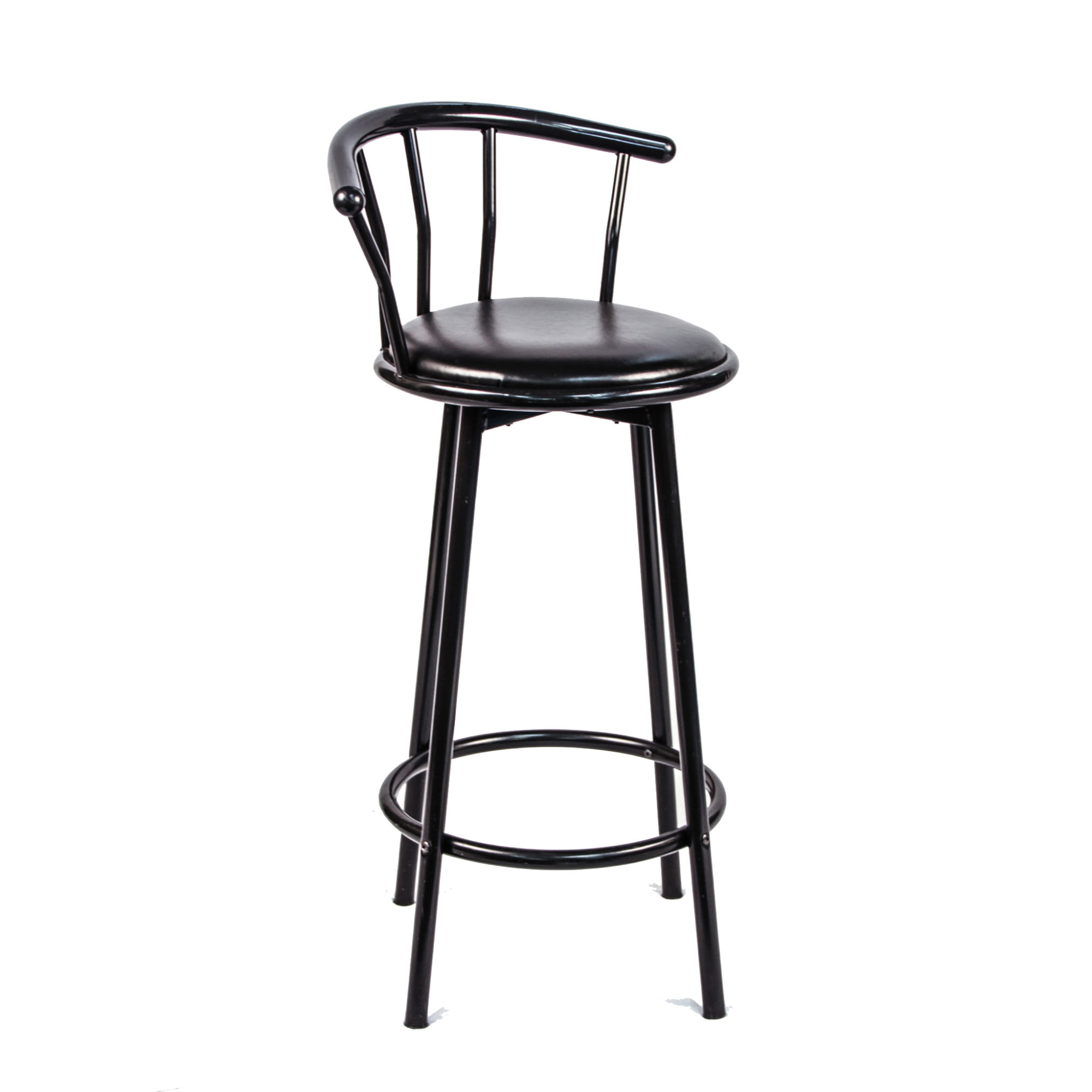 Admirable Spindle Back Bar Stool Black 29 Peter Corvallis Evergreenethics Interior Chair Design Evergreenethicsorg