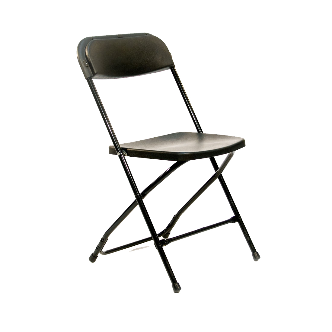 Black On Black Plastic Folding Chair Peter Corvallis Productions Tent Party Wedding Rentals Portland Rental Decor Portland