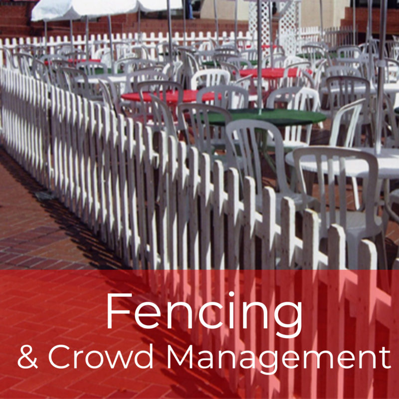 Fencing & Crowd Management