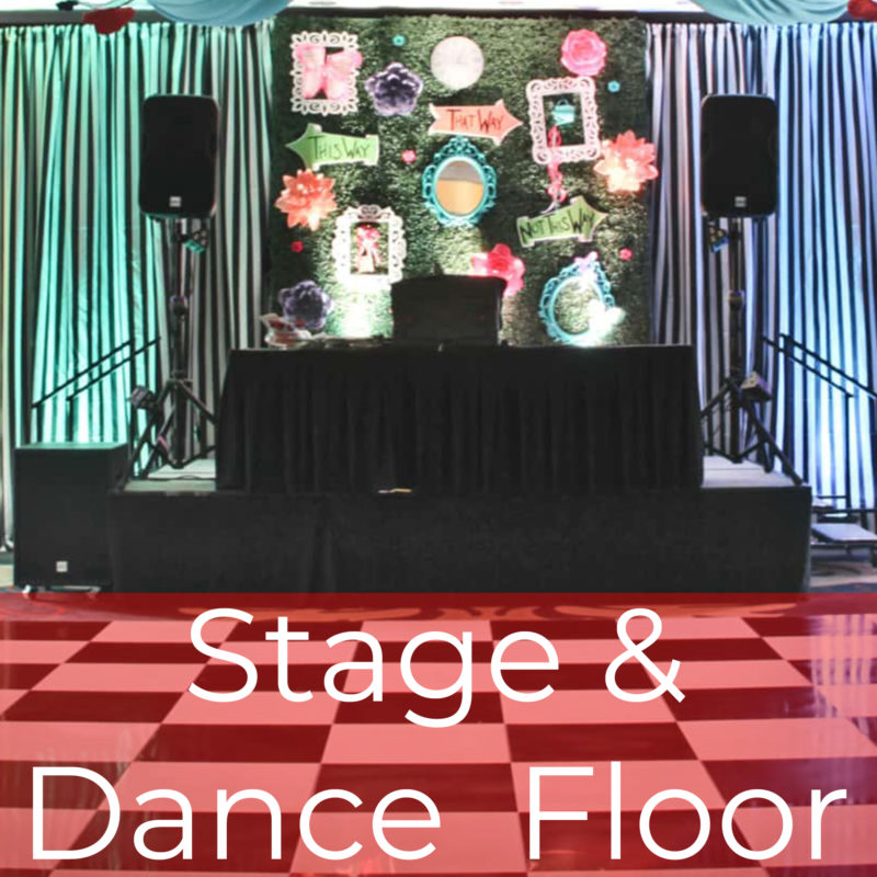 Staging and Dance Floor