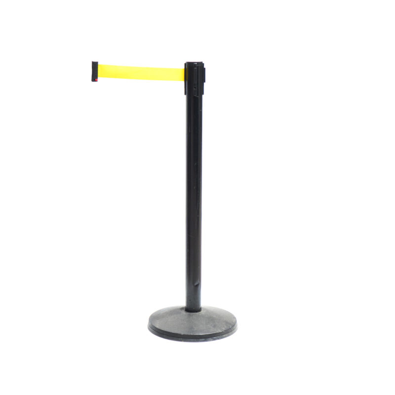 stanchion yellow